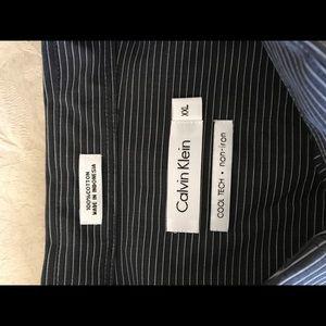 Calvin Klein Shirts - CALVIN KLEIN COOL-TEC Men's dress shirt